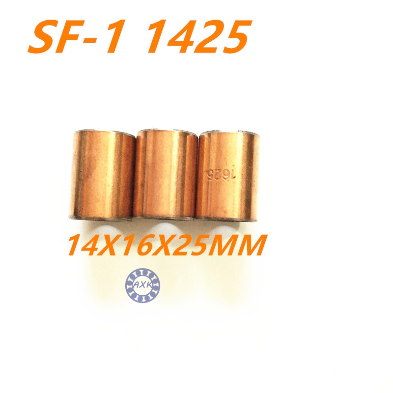 Free shipping 10Pcs SF1 SF-1 1425  1420 1415 1412 1410 1315 Self Lubricating Composite Bearing Bushing Sleeve 14x16x25mm sharp sjxp59pgsl