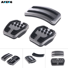 ANENG Car Rest Pedal Foot Fuel Brake Clutch AT Pedals Plate Cover For Ford Focus 2 MK2 Focus 3 MK3 2005-2016 Car Styling Auto