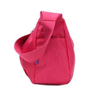 Image 2 - Phụ nữ Sứ Giả Túi Nylon Hobo Shoulder Bags Túi Xách Phụ Nữ Thương Hiệu Nổi Tiếng Thiết Kế Túi Crossbody Nữ Bolsa Sac MỘT Chính