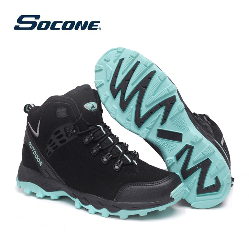 SOCONE Outdoor Shoes Men Sneakers Women Military Camping Tactical font b Boot b font High Top