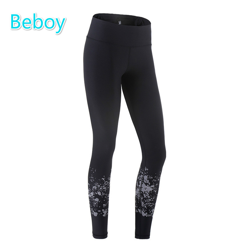 Prix pour Beboy Élargir Taille de Course Collants Leggings Pleine Longueur Femmes Anti-sueur Fitness Sport Leggings Mince de Sport Workout Gym Leggings