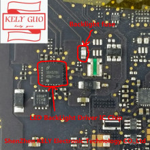"2pair/LOT for LED BackLight Driver IC Chip And Backlight fuse for Macbook pro 13"" A1502 820  3476 A logic board fix items"