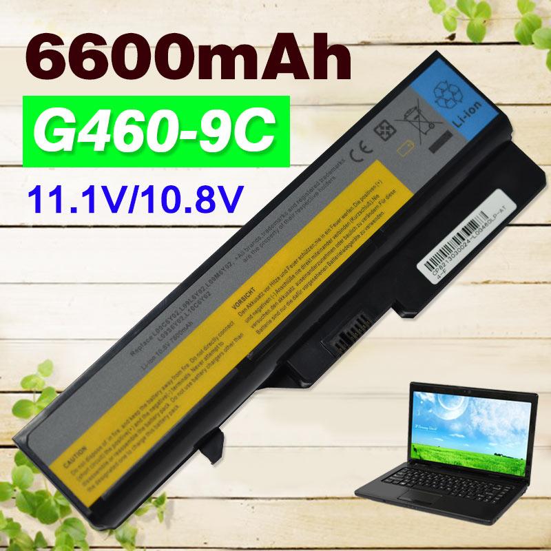 g480 Notebook Laptop BATTERIA 11.1v 6600mah per Lenovo g400 g405 g410