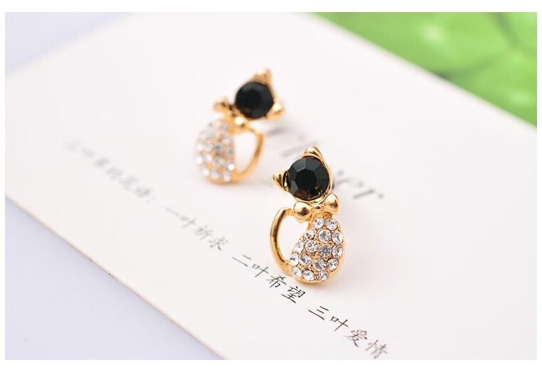 Cat Stud Earrings 8
