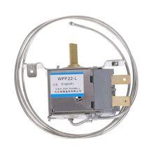 1 шт. Запчасти для холодильника WPF22-L термостат для холодильника бытовой металлический регулятор температуры