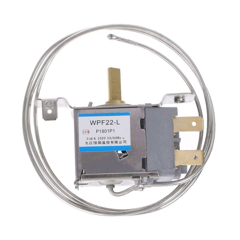 1 Pc Koelkast Onderdelen WPF22-L Koelkast Thermostaat Huishoudelijke Metalen Temperatuurregelaar Nieuwe