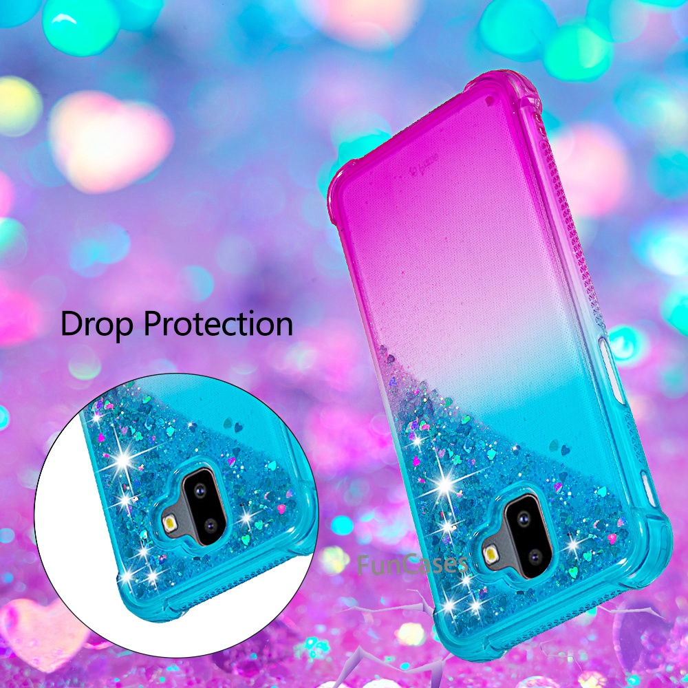 Cellphones & Telecommunications Able Cartoon Water Liquid Phone Case For Samsung Galaxy J6 Plus/j6 Premium Unicorn Quicksand Shockproo For Samsung J6 Plus Tpu Cover Phone Bags & Cases