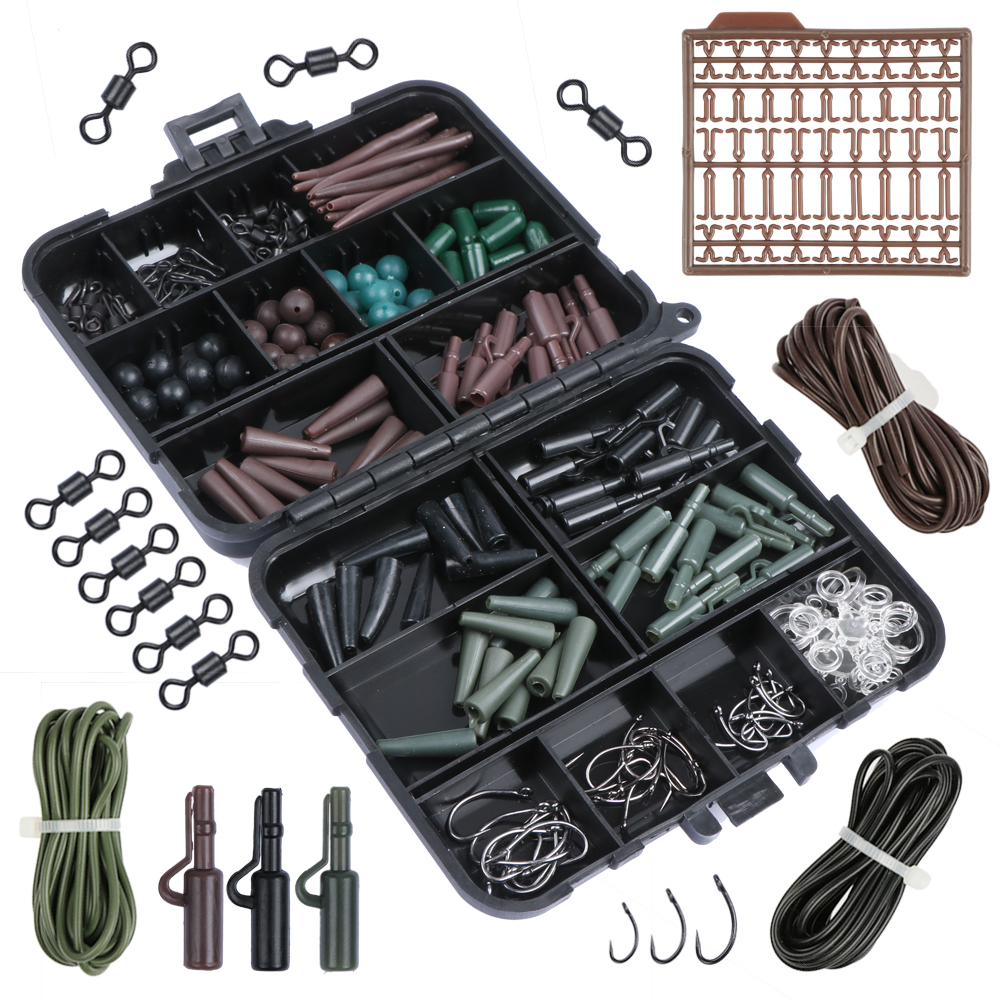 Goture Brand Carp Fishing Accessories Set Tackle Box för hår rigg - Fiske