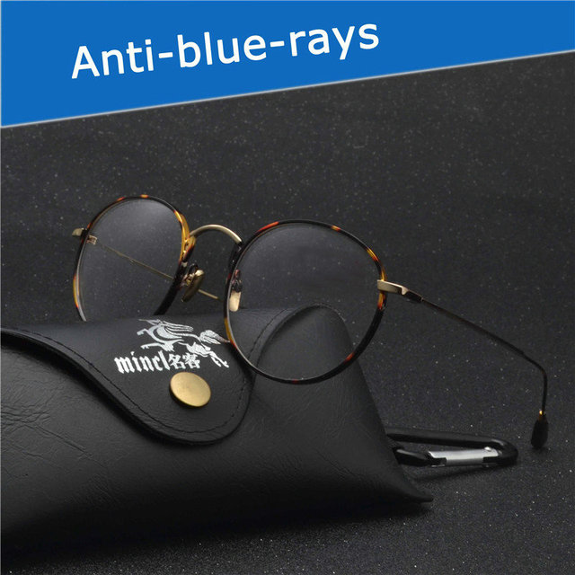 3709c873a02 MINCL 218 Blue Light Gaming Computer Goggles Reading Glasses For Men Women  100% Radiation