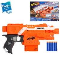 Hasbro NERF игрушки Фигурки игрушки хобби пластик горячий огонь элитная Серия Беспроводное зарядное устройство мягкая голова пуля электрическо