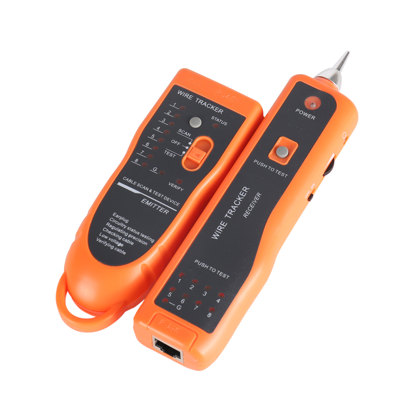 Image 4 - Cable Tester RJ11 RJ45 Cat5 Cat6 Telephone Wire Tracker Tracer Toner Ethernet LAN Network Cable Tester Detector Line Finder-in Fiber Optic Equipments from Cellphones & Telecommunications