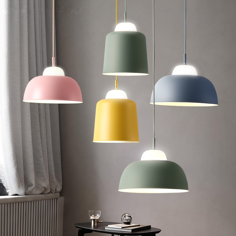 LED Nordic Modern Designer hanging lights Restaurant Lamps Bedroom Bar Lighting dining room Fixtures Cafe Pendant Lights 110v 240v g4 led copper glass pendant lights lamps lighting 1 light d30cm for dining room kitchen cafe bar led hanging lights