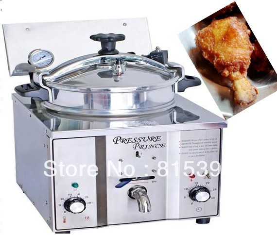 Biggest promotion Electric Chicken Pressure Fryer with 16L shipping by DHL