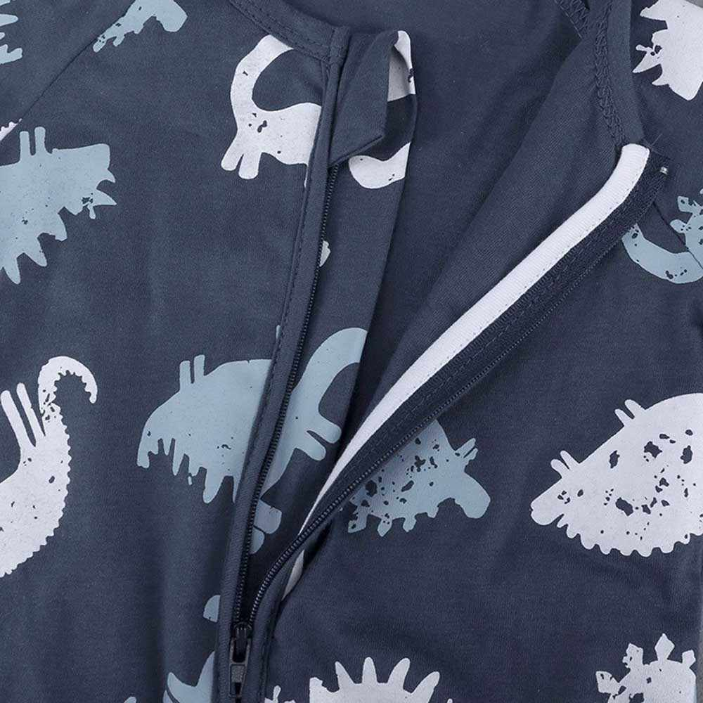 2019 été nouveau-né bébé garçons filles vêtements dinosaure fermeture éclair barboteuse combinaison carters bébé onesie infantile vêtements roupa de bebes