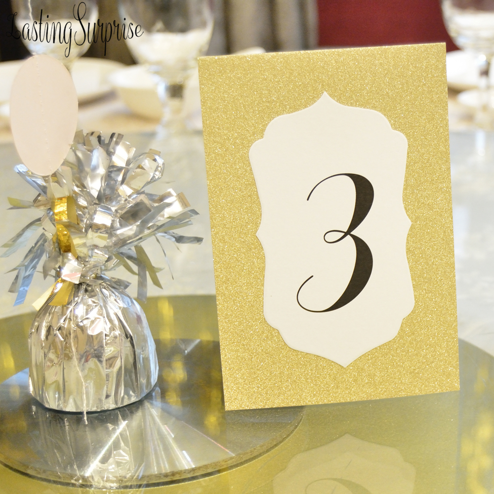 Us 1 0 Gold Glitter Table Number Card 1 10 Table Place Card Restaurant Wedding Table Decoration Baby Shower Birthday Party Supplies In Party Diy