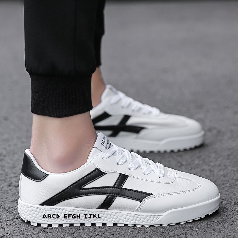 Fashion Classic Joker Trend 2018 New Men Sneakers Lightweight Breathable Causal Shoes Comfortable Low Price Footwears Hot Sale