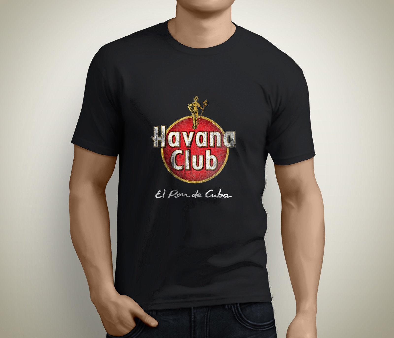 New Havana Club Kuba Cuba Party DJ Che Guevara Gr Mens Black T-Shirt Size S-3XL Design Style New Fashion Short Sleeve T Shirt