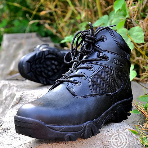 Desert Tactical Military Boots SWAT Combat Boots Army Boots Militares Men Shoes Riding Outdoor Climbing Men Tactical Boots