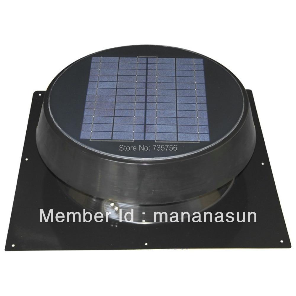 ▻20 W ventilación eficiente de ventilador solar ventilador del ...