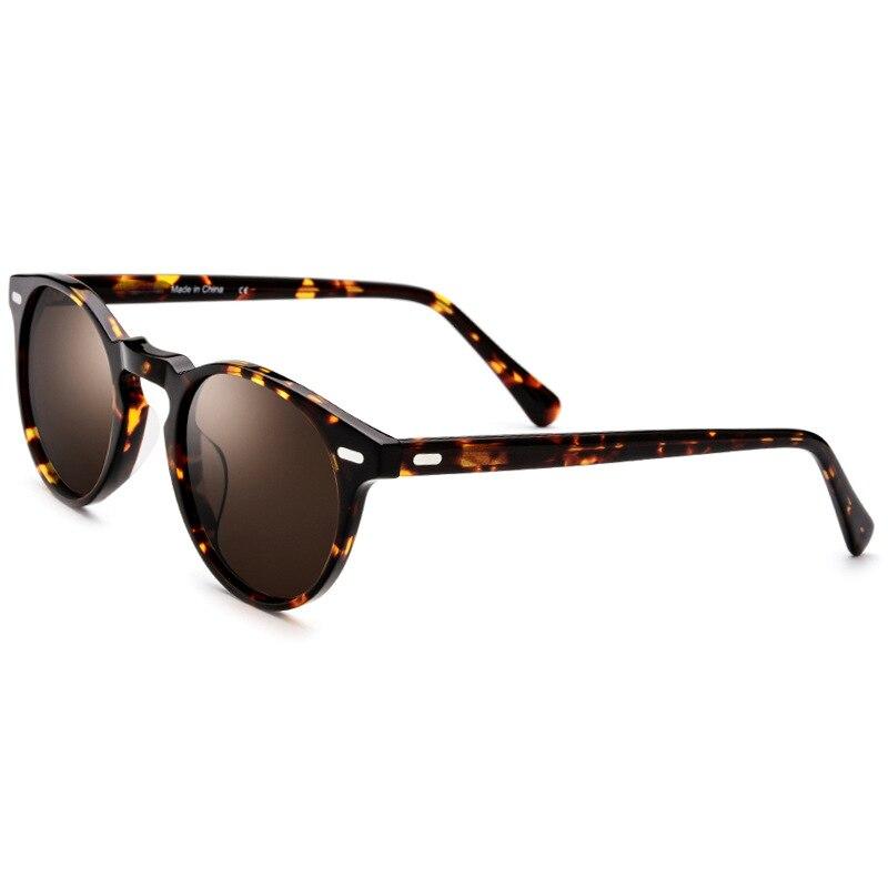 398f016d0b Monturas de gafas de acetato para hombres y mujeres, gafas con polarización  Vintage, monturas de gafas ópticas de Johnny Depp S309