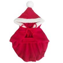Купить с кэшбэком Autumn Winter Pet Dog Clothes Cotton Cloak Christmas Sweater Teddy Coat Honden Trui Pull Chien Chandail Pour Chat Pets 5d0008