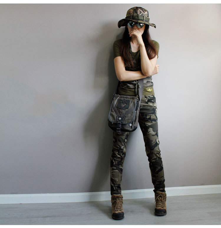 9e521dd6f09 Super Quality Army Green fatigue Camouflage Cargo Pants plus size High  Stretch Jeans Femme Skinny Denim jeans womens baqueros-in Jeans from Women s  Clothing ...