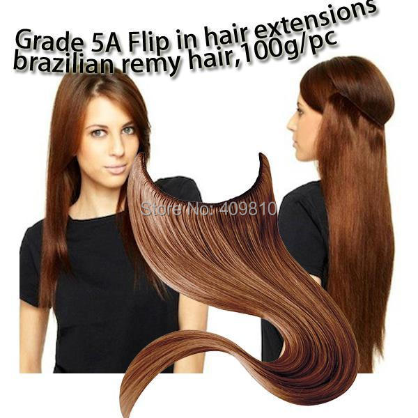 2015 New Hair Products Straight High Quality Hair Flip In Halo Hair