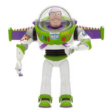 Toy story 3 4 Buzz Lightyear zabawki Talking Lights Speak English Joint ruchoma figurka kolekcjonerska lalka zabawka dla dzieci Boy tanie tanio Disney Model Wyroby gotowe Unisex None 5-10cm 1 60 Second edition 6 lat Urządzeń peryferyjnych Zapas rzeczy Film i telewizja