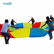 Preskool ของเล่นเด็กสำหรับเด็ก Rainbow ร่มกลางแจ้งกิจกรรมการศึกษาเหนี่ยวนำอุปกรณ์การฝึกอบรม