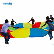 Preskool zabawka dla dziecka dla dzieci parasol tęczowy zajęcia na świeżym powietrzu wczesna edukacja indukcyjny sprzęt treningowy