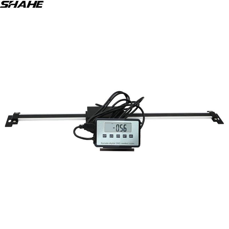 Shahe 0-150mm/0-200mm/0-300mm Digitale Tabelle Anzeige lineare skala DRO Magnetic Externe Display für Bridgeport Mühle Drehmaschine