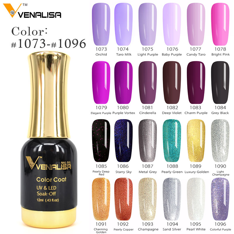 New Nail Polish Colors 2016: #60751 2018 New Venalisa Nail Paint Gel 12ml 120 Colors
