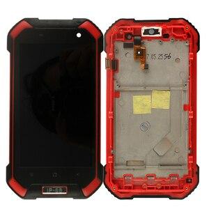 Image 3 - Ocolor Android 7.0 Blackview Bv6000 BV6000S LCD + dokunmatik ekran + çerçeve meclisi onarım 4.7 For Blackview BV6000 bv6000S + Film