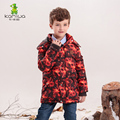 2017 Baby Boys Winter Coats And Jackets Geometric Printing White Duck Down Thicken Parkas Hooded Children Clothes Kids Clothing
