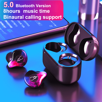 New Sabbat X12 Pro Bluetooth 5.0 Wireless Earbuds waterproof Earphone Sports Stereo Sound with Charging Box for iPhones Xmax i10 magnetic attraction bluetooth earphone headset waterproof sports 4.2