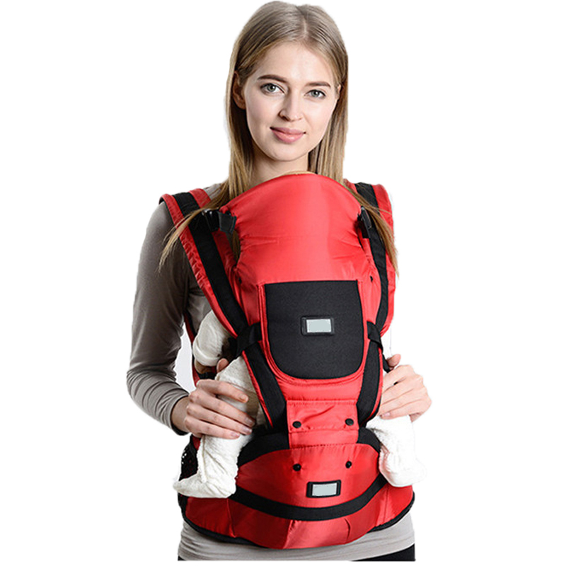 0-48 Months Baby Carrier Baby Sling Hipseat Baby Wrap Backpack Breathable Infant Carrier Many Positions Backpacks for Toddlers