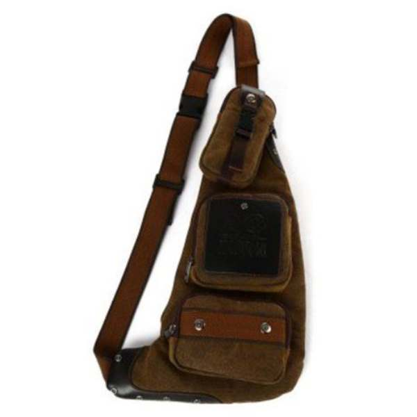 5x Kabden Retro Canvas 6L Sling Bag for Man coffee casual canvas satchel men sling bag