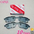 Rear brake pads brake shoes OEM:04466-12130 for TOYOTA YARIS,AURIS,COROLLA,PRIUS,IQ,URBAN CRUISER,VERSO S