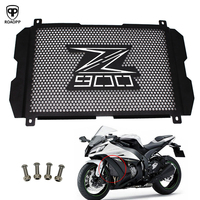 ROAOPP Motorcycle CNC Aluminum Radiator Grille Guard Cover Motor Engine grill guard Cover Z900 For KAWASAKI Z900 2017 2018