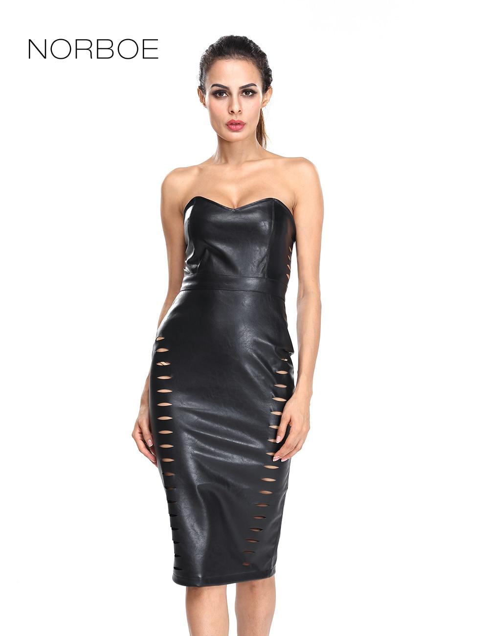 Buy leather dress online