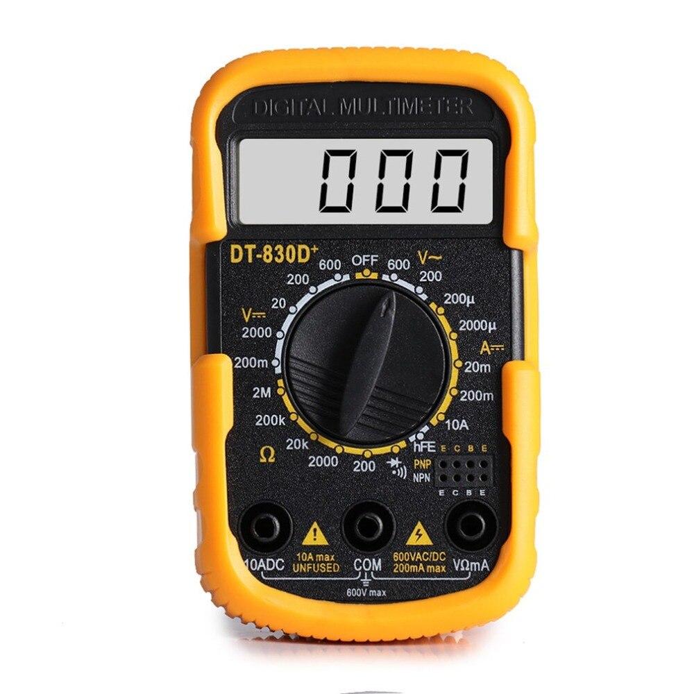 DT830D+ Mini Digital Multimeters Storage Oscilloscope TRMs Handheld DSO DDS Function Signal Generator