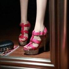 Freies verschiffen 2015 neue sommer sexy Gladiator frau schuhe hohe heels schuhe offene spitze damen sandalen partei pu solide marke schuhe