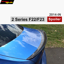 F22 coupe  F23 convertible Carbon Fiber Trunk Spoiler Rear Car Wing for BMW 2 Series 218i 220i 225d 228i M Performance Style 2 series f22 coupe f23 cabriolet m style coupe cf spoiler carbon fiber rear trunk spoiler wings for bmw 2 series f87 m2 2014