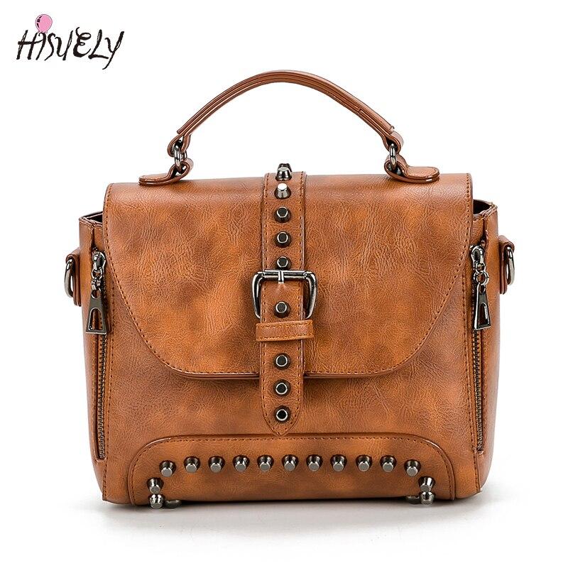 2019 Nuevas Mujeres Messenger Bags Vintage Bag Ladies Crossbody Bolsa - Bolsos