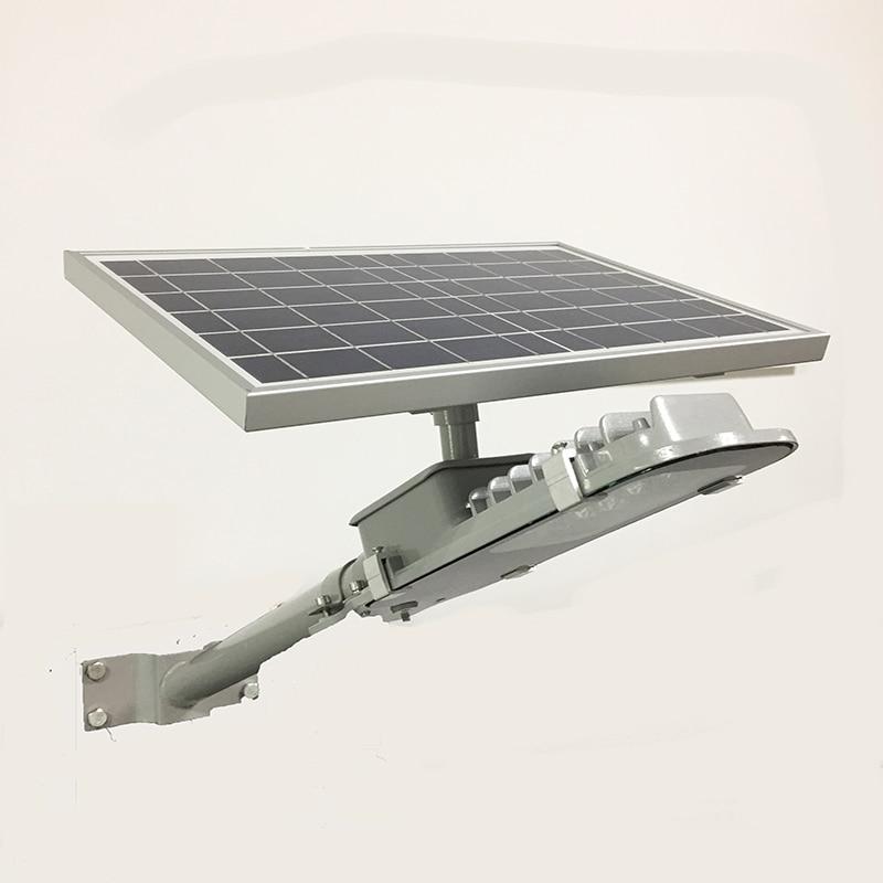 Street Light Voltage In Canada: 12PCS LED Solar Power Street Light 10W 6V Aluminum Soalr