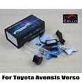 Para Toyota Avensis Verso 2001 ~ 2009/luz de Aviso de Alarme A Laser Luzes de Nevoeiro/Anti-Colisão Taillight Auto acessórios Luzes de Neblina