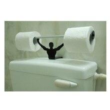 Full new STRONG MAN PAPER HOLDER - Bathroom Toilet Paper Tissue Roll Holder