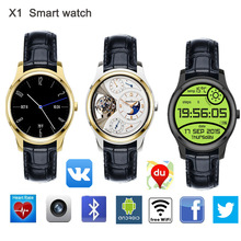 X1 smart watch android 4.4 lem3 smart watchที่มีบลูทูธ4ซิมบัตรwifiสำหรับa ndroidและiphone gps watch 3กรัมนาฬิกามุสลิมนาฬิกา