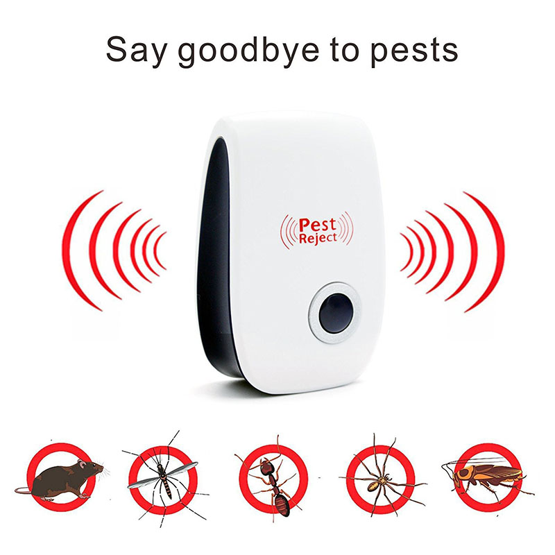 Multi-Purpose Electronic Ultrasonic Mosquito Killer Reject Bug Mosquito Cockroach Mouse Pest Reject Magnetic Killer Repeller