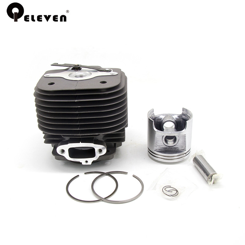 Qeleven Chainsaw 58mm Cylinder Piston Kit Fit For MS 070 MS 090 Chain Saw Parts Garden Tool Parts big power 105cc ms070 090 chainsaw diaphragm repair kit spare parts